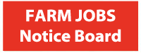 farm jobs notice board